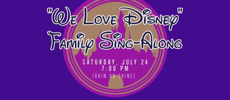 Family Sing-along: Disney Themed!